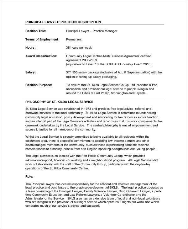Criminal Justice Lawyer Job Description – clgss.net