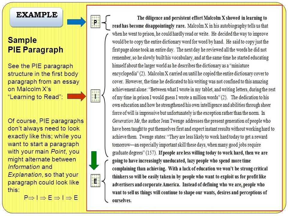 2 example essay. here the most basic scheme of a five paragraph ...