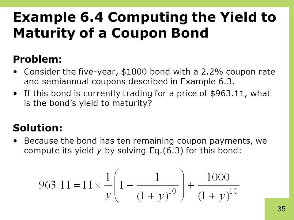Chapter 6 Bonds. - ppt download