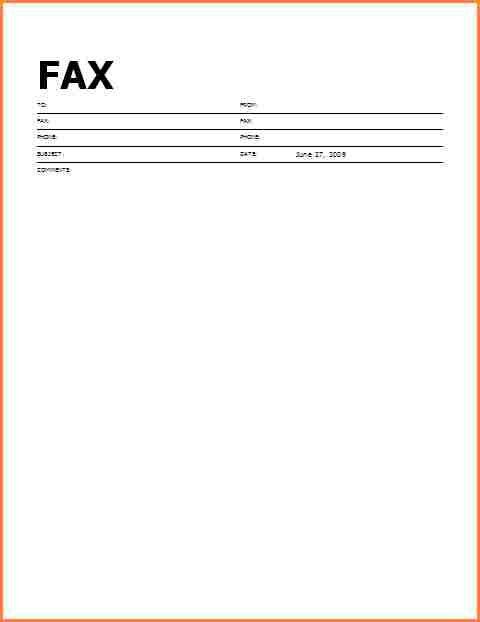 Fax Cover Letter Sample. 10+ Fax Cover Sheet Templates - Word ...