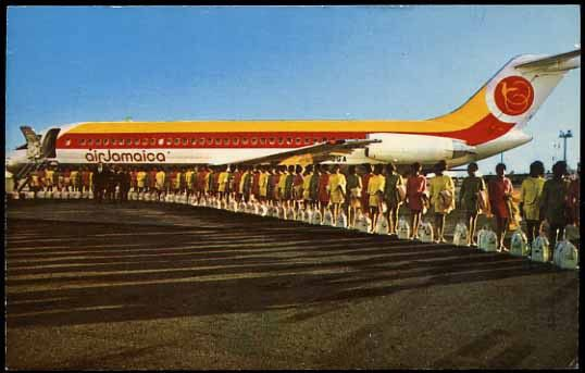 Air Jamaica | Dah Plane Dah Plane | Pinterest | History, World and ...