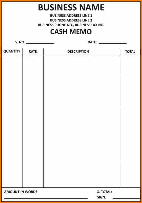 Format For A Bill, invoice template in word format | printable ...