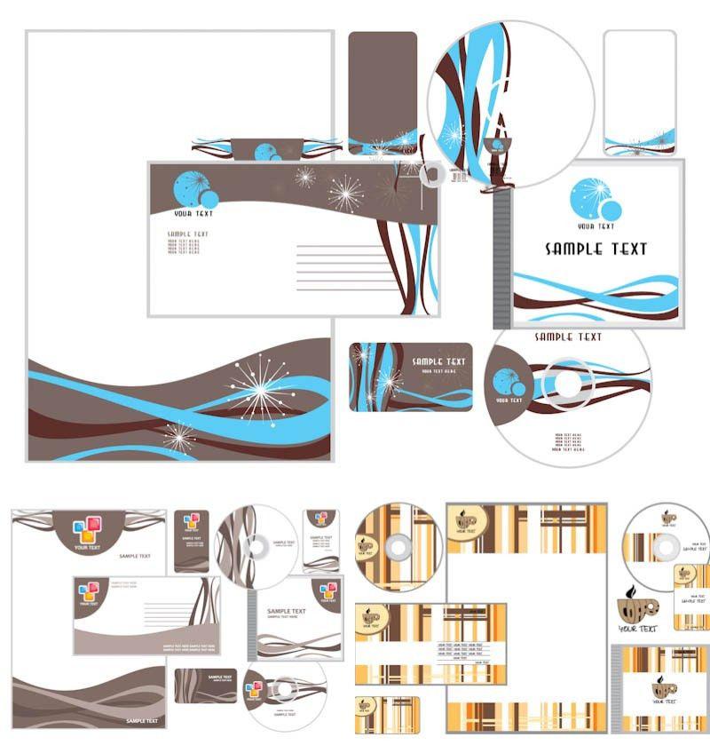 Letterhead templates vector | Vector Graphics Blog