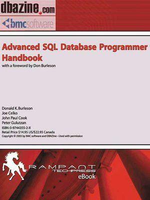 Advanced SQL Database Programmer Handbook by Donald Burleson ...