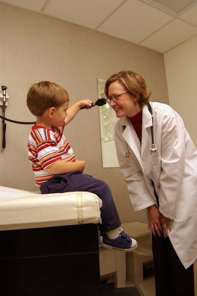 Work Conditions for Pediatricians - Woman