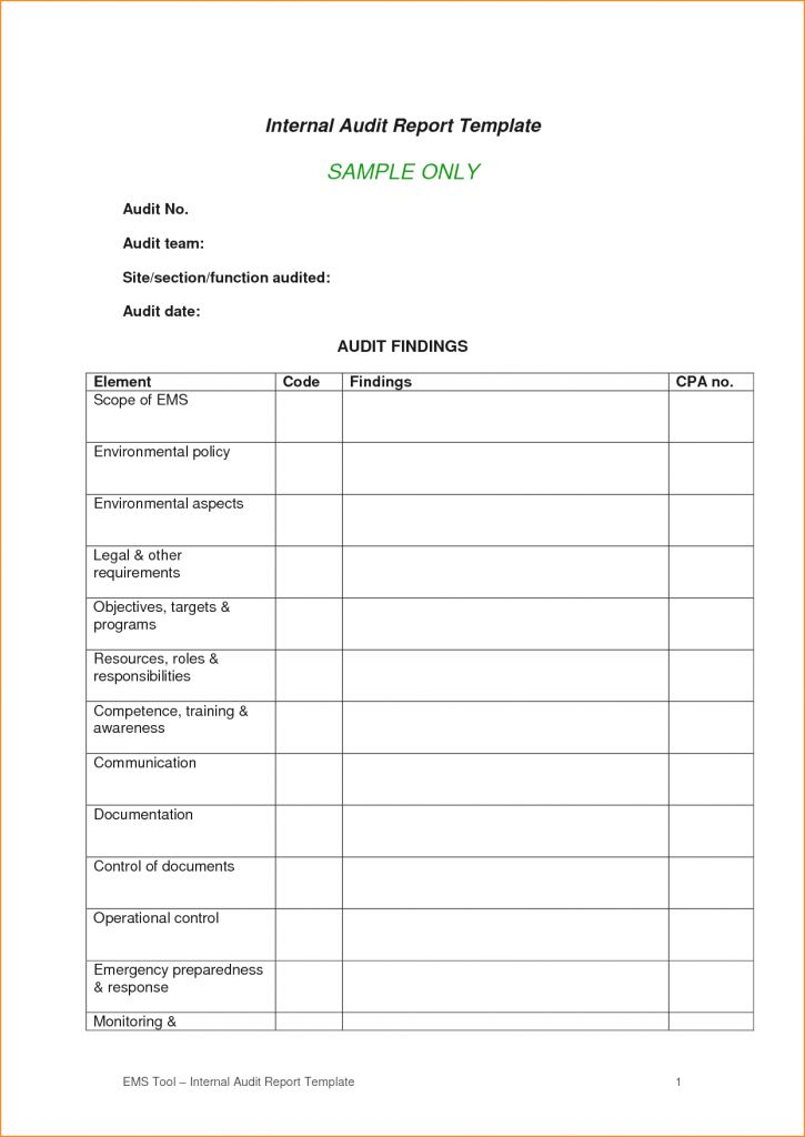 Format For Audit Report Printable Classroom Seating Chart Agenda ...