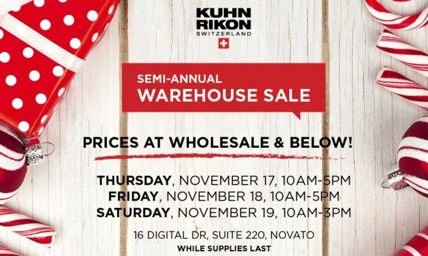 Get Cooking: Kuhn Rikon Warehouse Sale | DealTrackerSF