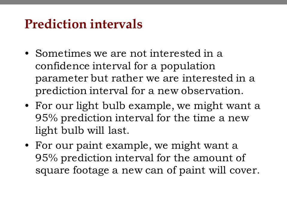 Topic 6 - Confidence intervals based on a single sample Sampling ...
