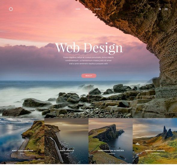 100+ Free Photoshop PSD website templates