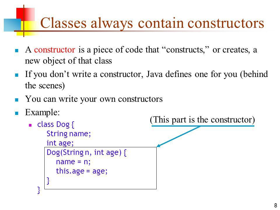 Classes and Objects in Java - ppt download