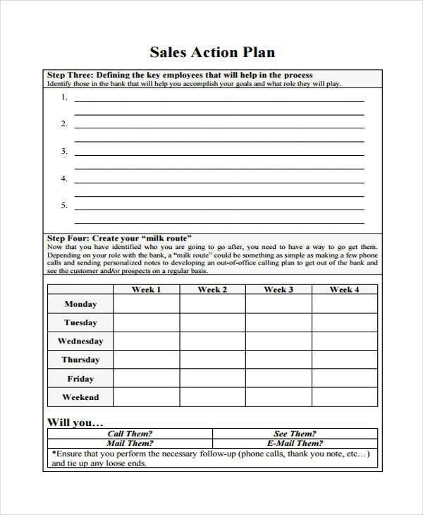 37+ Sample Sales Plan