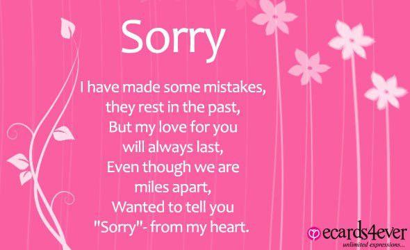 Sorry Greeting Cards | I\'m Sorry Greeting Cards | Sorry Greetings ...