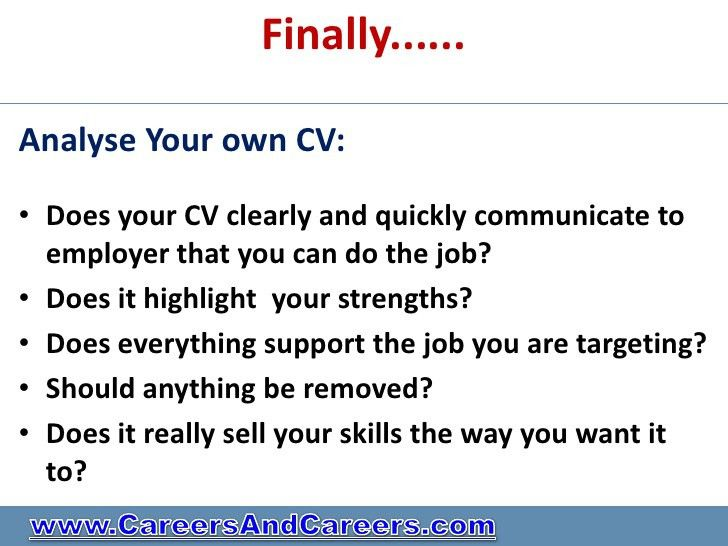 Do You Have A Killer Cv Or Need Professional Help