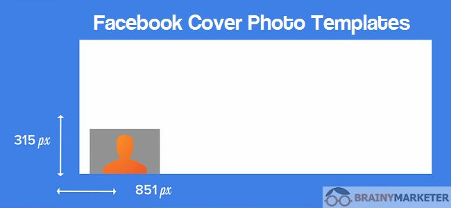 Facebook Cover Photo Templates for Pages & Events - Brainy Marketer