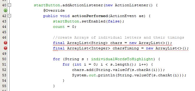 java - working with Swing timer : creating mess - Stack Overflow
