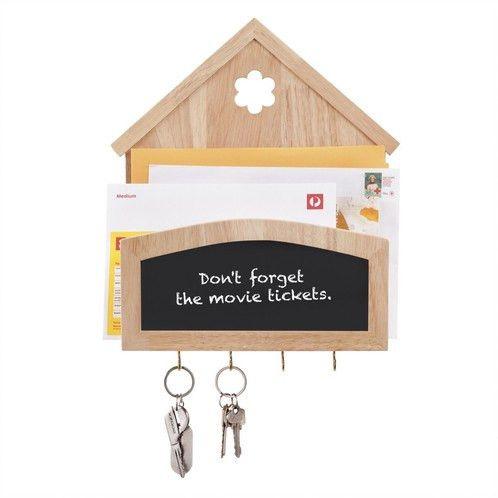 Vintage Wooden House Letter Card Key Holder | Hengxin Australia ...