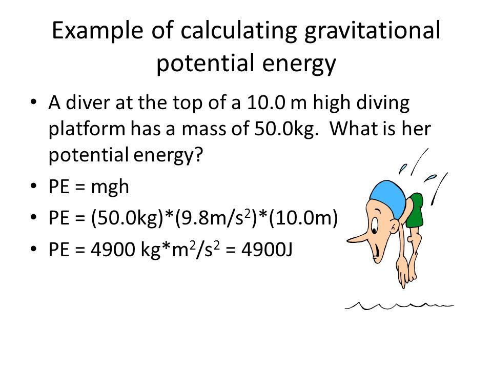 Gravitational Potential Energy Equation - Jennarocca