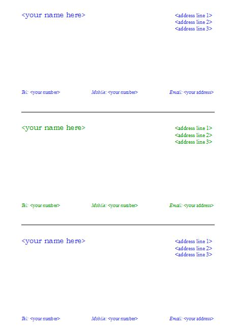 Salary Slip Format   Graphics and Templates