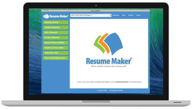 Write a Better Resume: Resume Maker | Individual Software