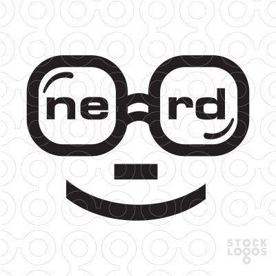 38 best Nerd Logos for Sale by LogoMood.com - Melanie D images on ...
