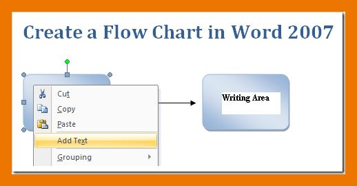 Word Template Flow Chart. create a flow chart in word 2007 2010 ...