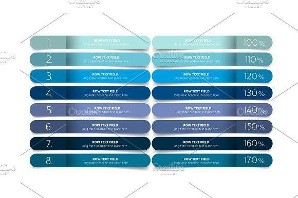 Table, schedule design template | Schedule design
