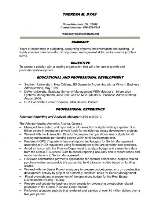 objective for mba resume formalbeauteous mba admission resume