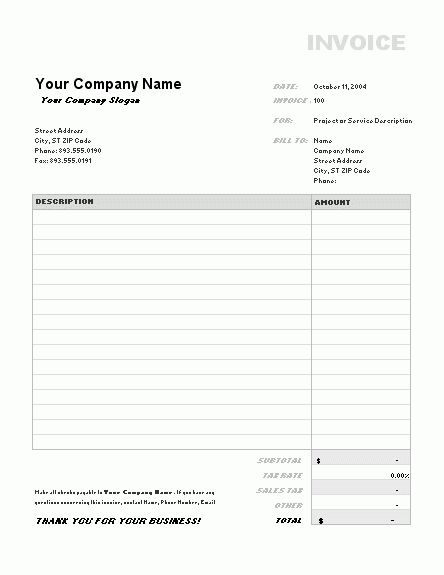 Download Receipt Template Excel Free | rabitah.net