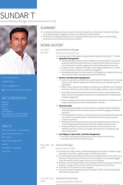 Gestionnaire De La Prestation De Services Exemple de CV - Base de ...