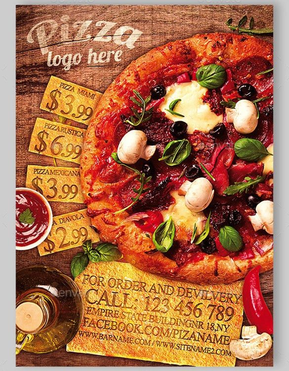 Pizza Flyers – 34+ Free PSD, AI, Vector EPS Format Download | Free ...