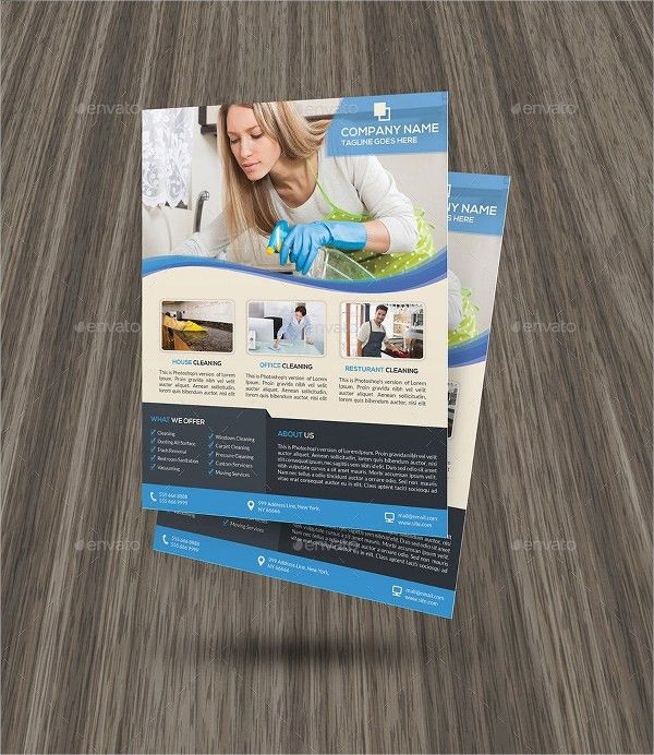 16+ Cleaning Service Flyers - Free PSD, AI, EPS Format Download ...