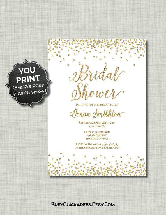 Free Printable Bridal Shower Invitation Templates | futureclim.info