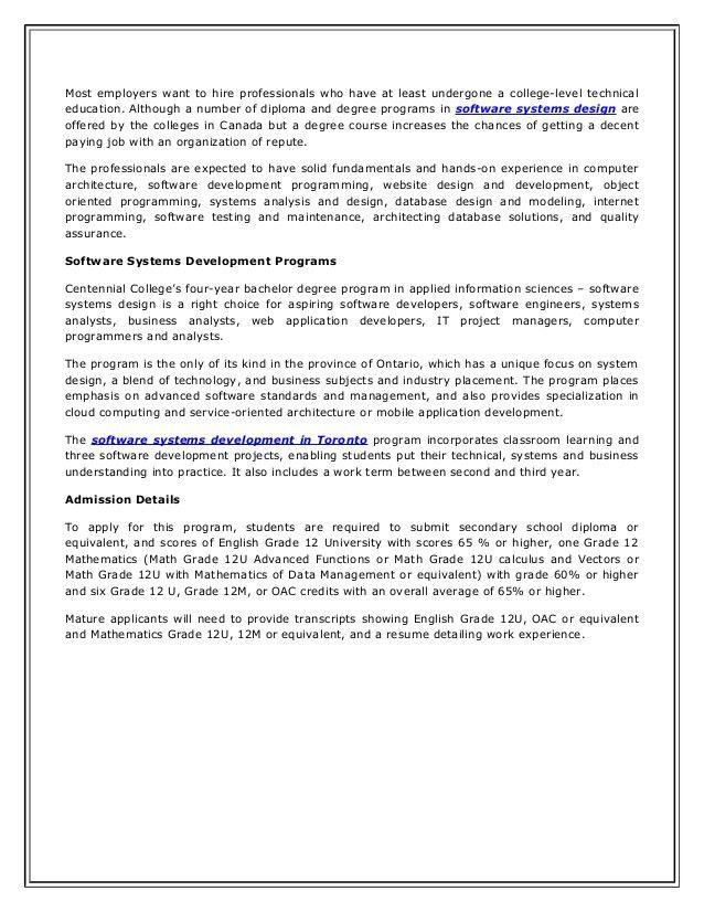 System Software Designer Job Description And Education Requirements