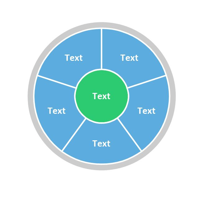 Pie Chart Word Template. Pie Chart Examples | Circular diagrams ...