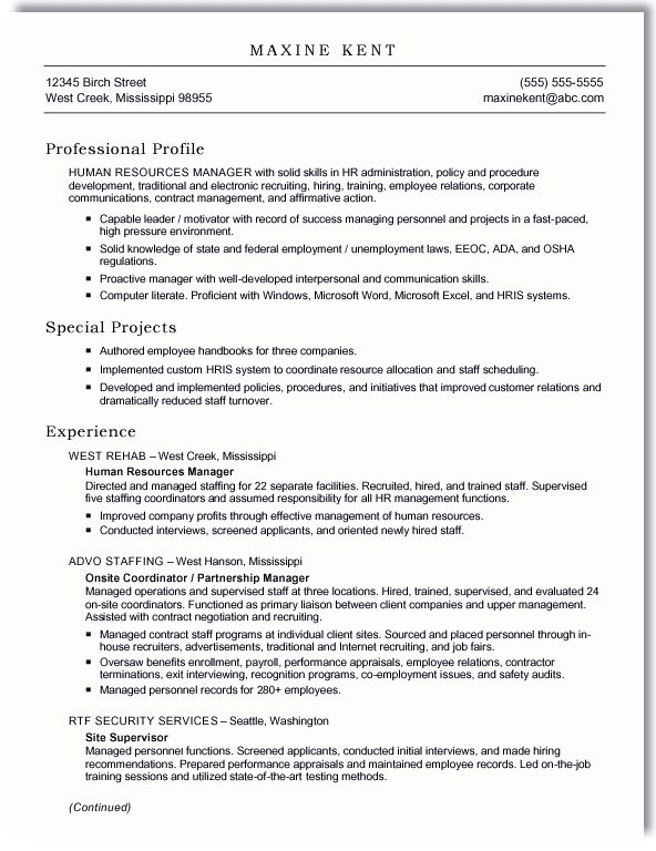 Extraordinary How To Format A Resume In Word 15 How To Format A Cv ...