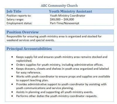 works with the church accountant to develop a budget approve ...
