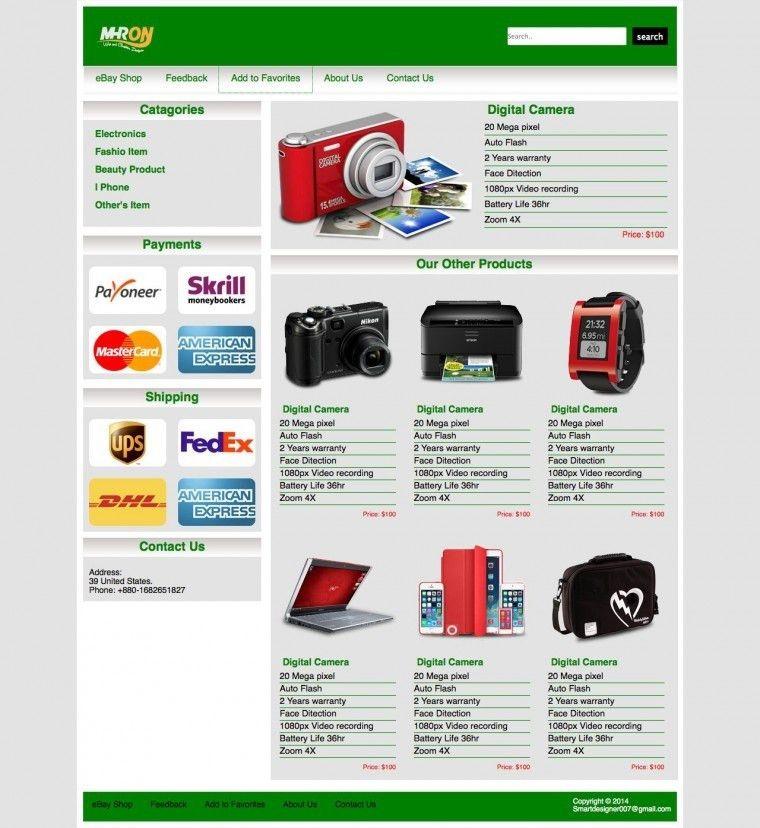 Free Ebay Templates | peerpex