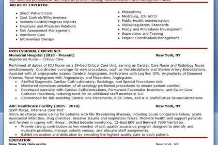 Hospice Registered Nurse Resume - Reentrycorps