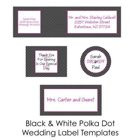 DIY Wedding Labels for free collection two   Worldlabel Blog