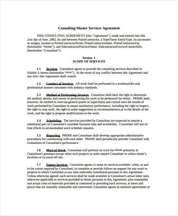 Simple Consulting Agreement. Simple-Pdf-Consignement-Contract ...