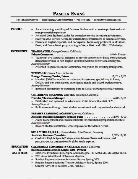 Perfect Sample Resume Skills Section – Resume Template For Free