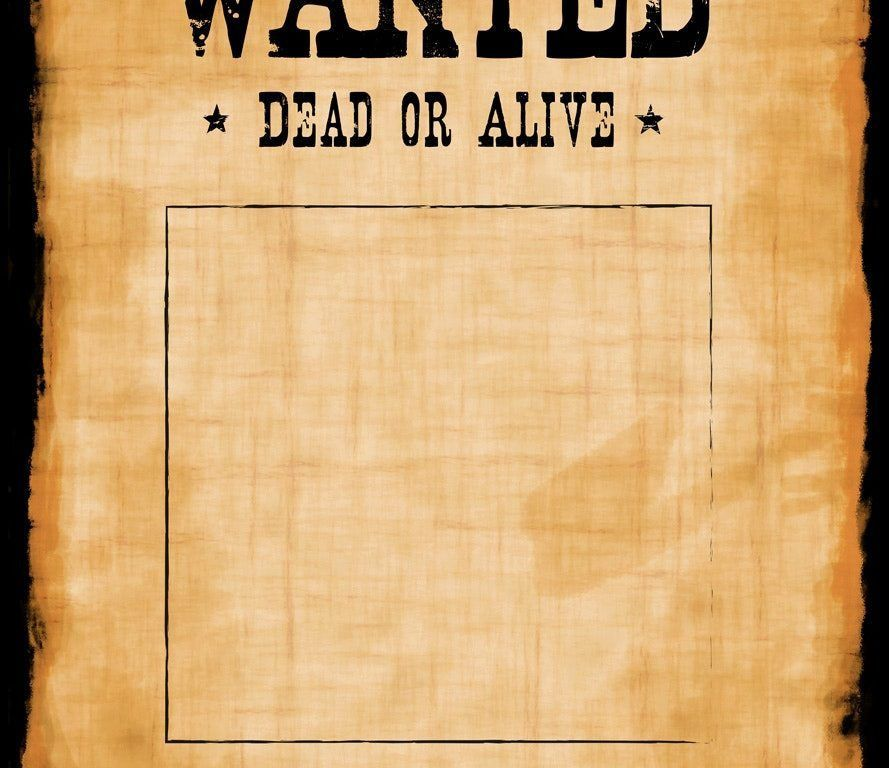 Magnificent Reward Posters Template And Good Ideas Of Wanted ...