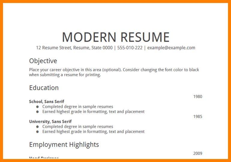 7+ resume objective examples for any job | job resumed