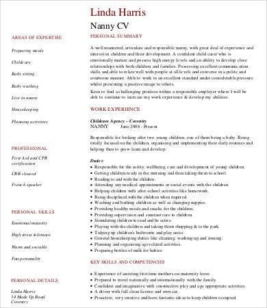 Babysitter Resume - 8+ Free Word, PDF Documents Download | Free ...