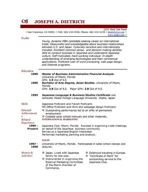 gallery mca resume format college onealphaco resume format student ...