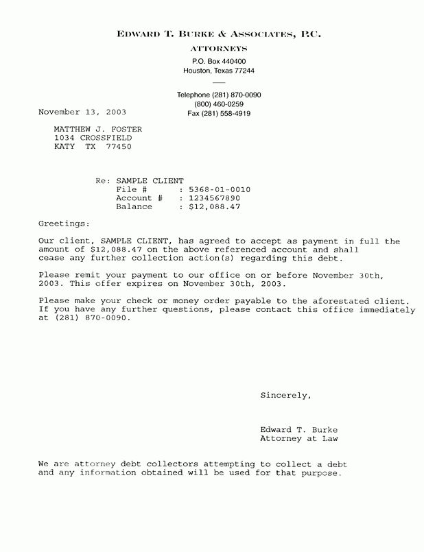 Printable Sample Letter of Agreement Form | Attorney Legal Forms ...