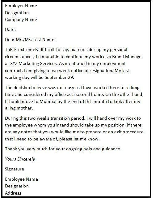 Best 25+ Job resignation letter ideas on Pinterest | Resignation ...
