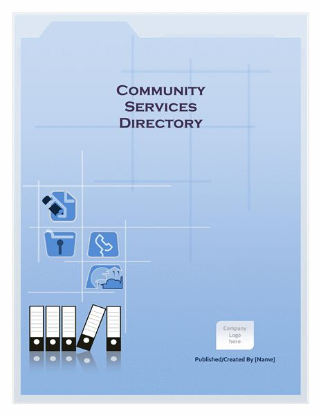 Community services directory - Office Templates