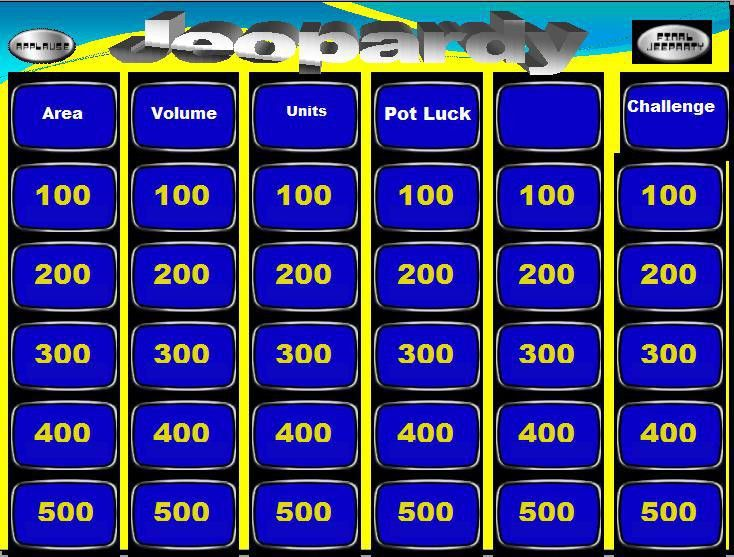 jeopardy | IB Maths Resources from British International School Phuket