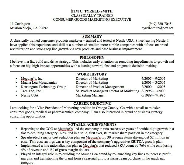 Example Resume Summary Resume Summary Examples Executive Summary - summary example resume